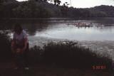 canoes on lake, etc.