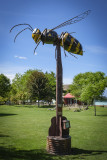 Beeest: Yellow Jacket on a Pole