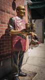 Todd Kirnan - Coffee Man Statue
