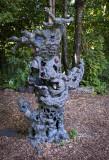 Jerry Garcia Tree Sculpture