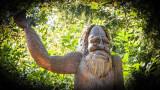 Friendly Bigfoot Statue