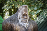 Friendly Bigfoot Statue