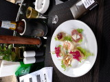 Canapes, Thai Beer and Norvegian Linjeakkevitt. Stable Lodge Soi 8
