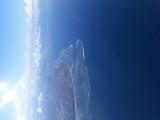 Sanur from above. Thai B777