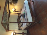 Ny bed at Oka Wati. Ubud