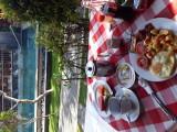 Breakfast at Kesumasari Hotel. Sanur