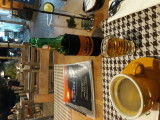 After dinner coffe and whisky. Sanur