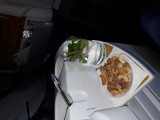 Mojito and snacks. Emirates B 777. Oslo-DUbai