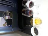 Coffe, cognac, red vine and port. Thai B777