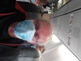 On SAS B 737 to Ålesund. Face mask is mandatory due to the corona crisis
