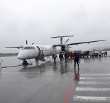 Widerøes Dash 8 on Vigra.