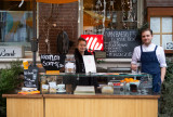 Amsterdam during catering industry lockdown - Illy