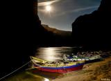 Moon Rise at Saddle Canyon Camp  1
