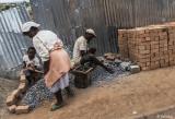 Making Gravel, Antananarivo Street Scenes  19