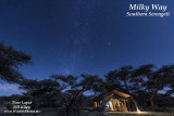 Milky Way Time Lapse -- Serian's Serengeti South Camp
