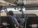Safari flight over Botswana