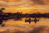 Sunset Fishing  6J
