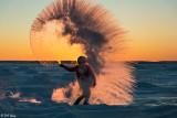 Sunset Snow Shower  1