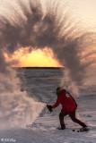 Sunset Snow Shower  3