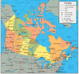 Map of Canada 1