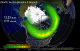 Aurora Borealis Polar Oval  2