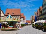 Weinmarkt & Rothenburger Tor