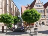 Altstadt mit Kirche Sankt Georg