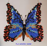Blue Morpho Butterfly (2) - sold