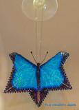 Blue Morpho Warped Butterfly - sold