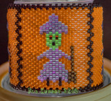 Halloween Witch Tea Light Wrap