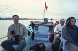 Boat from Mandalay to Mingun