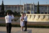Empire Garden Fountain and Jerónimos Monastery