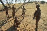 Bushman, Kalahari Desert, Namibia