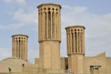 Yazd, Wind Towers at Amir Chakhmaq Square