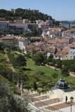 View from Damasceno Monteiro Street