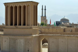 Yazd, Old Town, view from Art Cafe