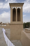 Yazd, Old Town roof terrace hotel