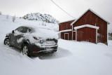 Near Leknes, our car