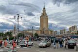 Moscow Komsomolskaya Square 2
