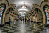 Moscow Novoslobodskaya Station