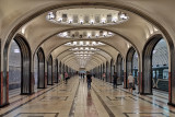 Moscow Mayakovskaya Station 3