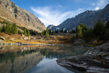 Altai. Multinsky lakes and 3 valleys. 9 days trekking tour
