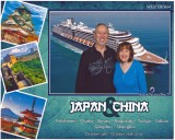 Tokyo, Norwegian Cruise, Osaka, Kyoto, Nagaski 2019