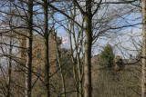 Lumley Castle from park burn