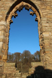 The arched window