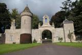 Duns castle entrance