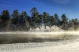 Chippewa river, hoar frost
