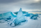 Incredible blue ice