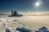 A sunny winter day