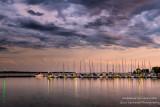 Evening at Bayfield harbor